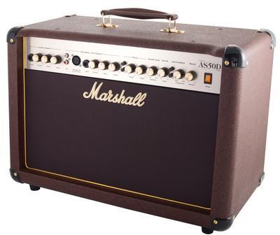 marshall as50d ampli combo acoustique 50w. Black Bedroom Furniture Sets. Home Design Ideas