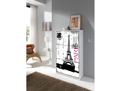 conforama meuble chaussures schuhsta iii blanc cs schmal. Black Bedroom Furniture Sets. Home Design Ideas