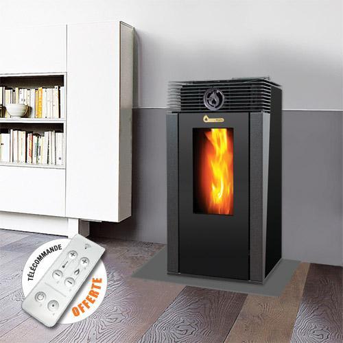 Poele chauffage a bois supra hf 3650 puissance maximale for Comparateur poele a granule