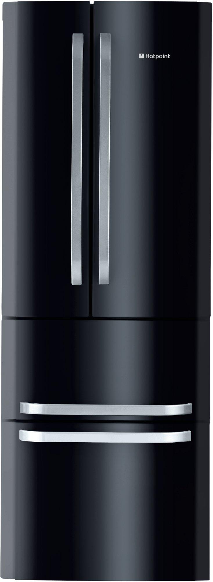 R frig rateur cong lateur froid ventil noir appareils for Frigo ventile ou brasse